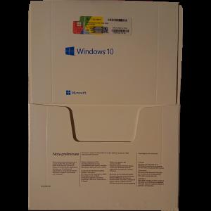 Windows 10 Pro OEM DSP OEI OEM DVD + COA pack Microsoft Corporation - 9