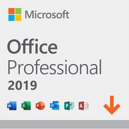 Microsoft Office Professional 2019 - licenza - 1 PC ESD EUROZONA 269-17068 Microsoft Corporation - 1