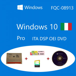 Windows 10 Pro OEM DSP OEI OEM DVD + COA pack Microsoft Corporation - 1