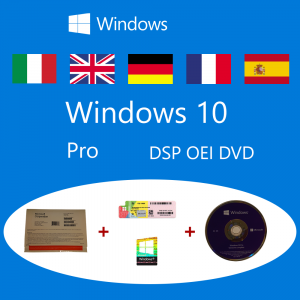 Windows 10 Pro OEM DSP OEI OEM DVD + COA pack Microsoft Corporation - 11