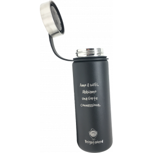 Botella termica CheckPoint en acero inoxidable de doble pared, sin BPA, termica Brigata Nerd - 10