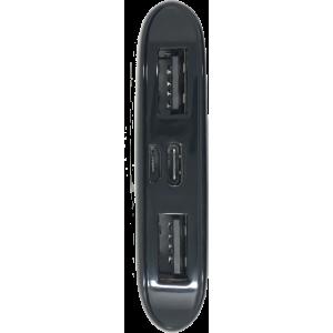 Powerbank GameOver 10.000 mah ricarica rapida con doppia USB normale e Type C Brigata Nerd - 4