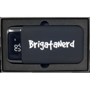 Powerbank GameOver 10.000 mah ricarica rapida con doppia USB normale e Type C Brigata Nerd - 7