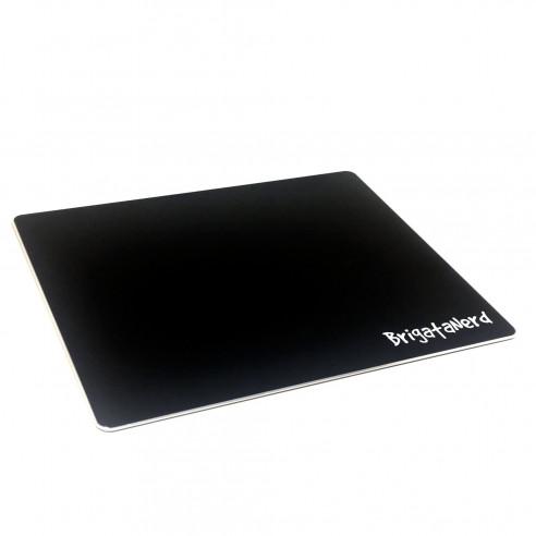 Mat Game Mouse Pad 24.6 x 20.2 satin Aluminum with non-slip rubber base Brigata Nerd - 1