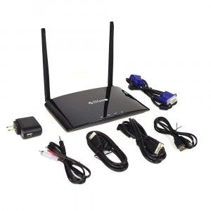 EZCast PRO Box B02 HDMI/VGA-Ethernet/WiFi Display 2.4 Ghz / 5Ghz with Support Miracast, AirPlay and Splitscreen to 4 devices EzC