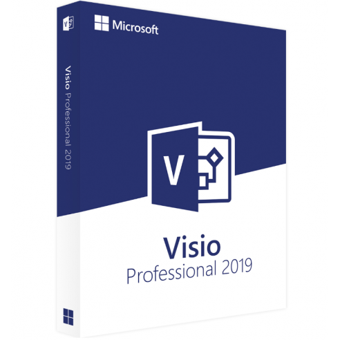 Microsoft Visio Professional 2019 - digital license Microsoft Corporation - 1