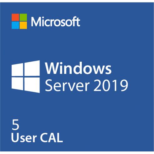 Microsoft Windows Server CAL 2019 - 5 User CAL OEM Microsoft Corporation - 1