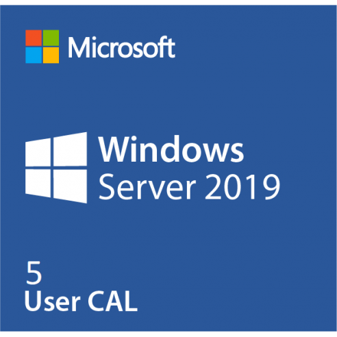 Microsoft Windows Server CAL 2019 - 5 de CAL de Usuario de OEM Microsoft Corporation - 1