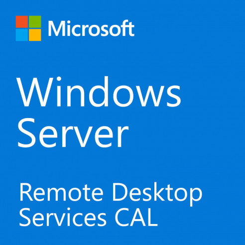 Microsoft Windows Server Remote Desktop Service CAL 2019 - 1 CAL Utilisateur RDS Microsoft Corporation - 1