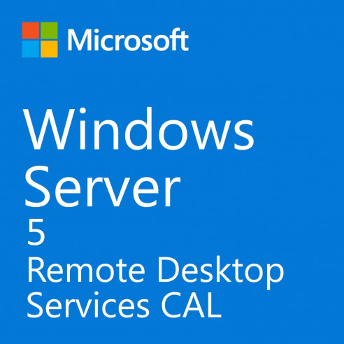 Microsoft Windows Server Remote Desktop Service CAL 2019 - 5 User CAL RDS Microsoft Corporation - 1