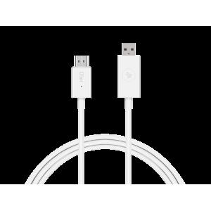EZCast Compacto CS2 - Compatible con los protocolos de AirPlay, Chromecast, Miracast, DLNA EzCast - 1