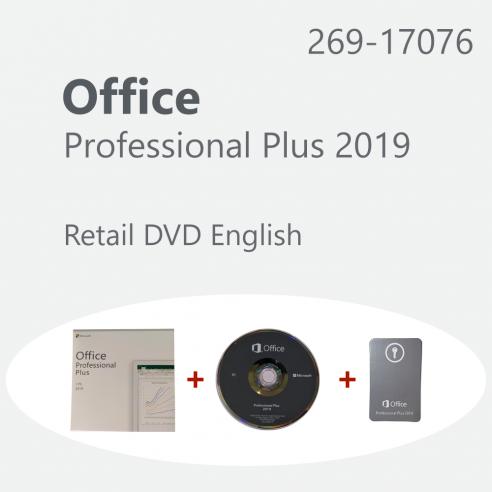 Microsoft Office Professional Plus 2019 - venta al por menor ESP DVD Microsoft Corporation - 1