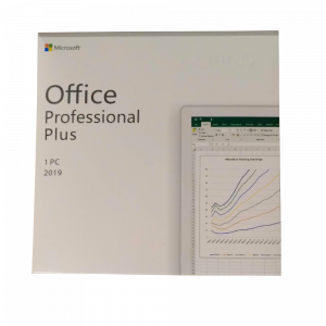 Microsoft Office Professional Plus 2019 - Retail-ENG-DVD Microsoft Corporation - 2
