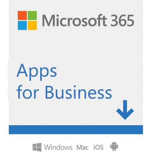 Microsoft 365 Apps for Business | per 1 persona | fino a 5 PC/Mac + 5 dispositivi mobili + 5 tablets | 1 abbonamento annuale Mic