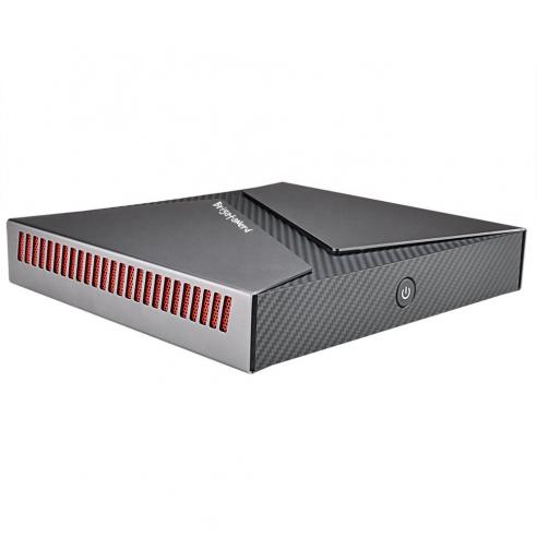 Mini jeux PC en aluminium Intel 9e et GTX1650 avec dissipation active Brigata Nerd - 1