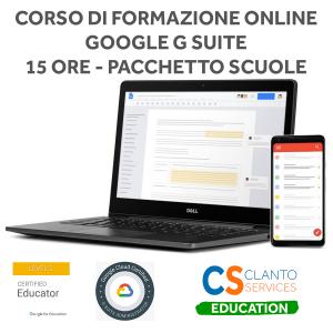 Corso di formazione online G Suite for Education - 15 ore pacchetto Scuole Google - 1