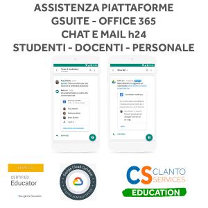 Assistenza Piattaforme G Suite for Education e Office 365 for Education - annuale Google - 1
