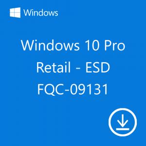 copy of Windows 10 Pro Retail HAV-00060 USB FPP P2 32-64 bit English International May 2020 Update (2004) Microsoft Corporation
