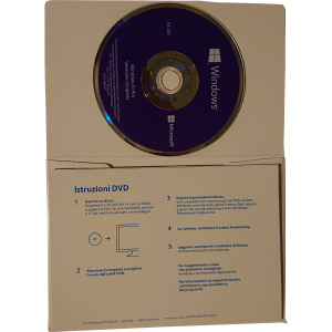 Windows 10 Pro OEM DSP OEI FQC-08913 DVD 64 bit Italiano Microsoft Corporation - 6