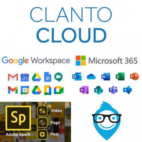 Implementazione Piattaforma Scolastica con Google Workspare for Education + Microsoft 365 A1 for Education e Adobe Spark annuale