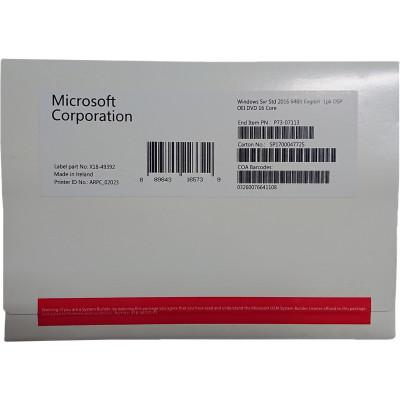 Windows Server Standard 2016 64bit inglés DSP OEM DVD 16 Core Microsoft Corporation - 3