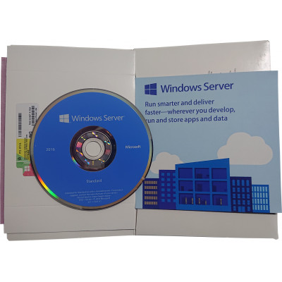 Windows Server Standard 2016 64bit English DSP OEM DVD 16 Core Microsoft Corporation - 2
