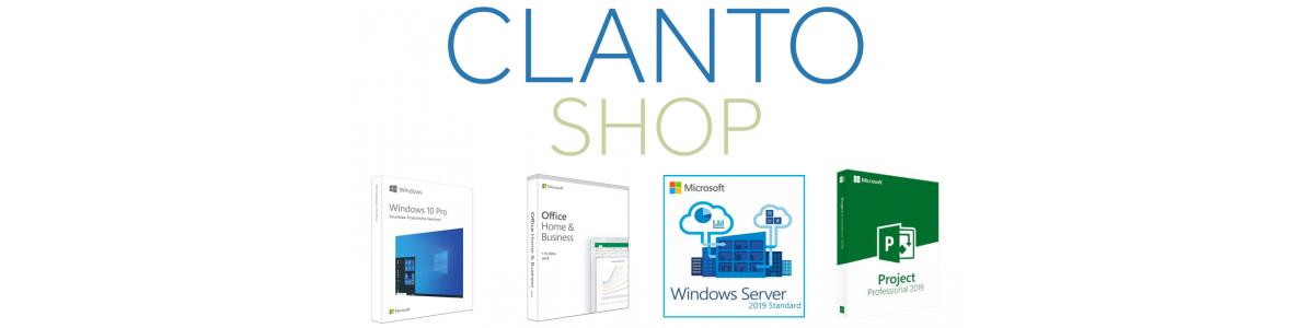 Logiciels Microsoft en versions OEM et Retail proposés sur Clanto Shop