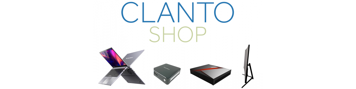 Boutiques informatiques: PC, ordinateurs portables et accessoires sur Clanto Shop